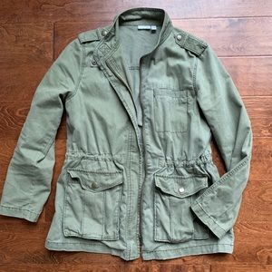 Olive Green Field Jacket